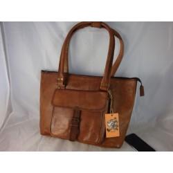 "XTP16 - Deluxe Handmade Ladies 16""  Leather Tote Bag"