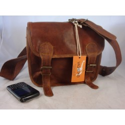 "J10C - 10"" Leather Satchel Camera Bag"