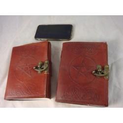 "Celtic Pentagram 7"" Leather Journal"