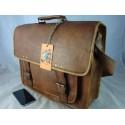 """XBLP18 -  18"""" Deluxe Laptop Satchel Briefcase"""