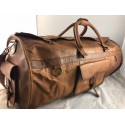 "XD30 - 30"" Deluxe Leather Travel Bag Duffel Bag Overnight Bag"