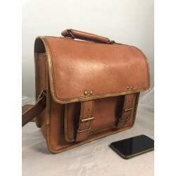 "XBCAM16 -  16"" Deluxe Camera Laptop Satchel Briefcase"