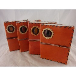 """8"""" Tan Leather Journal"""