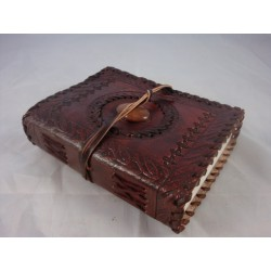 "6"" Handmade Leather Journal"